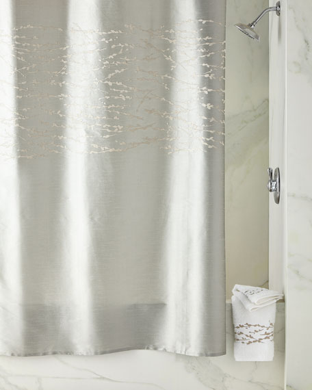 Michael Aram Willow Shower Curtain