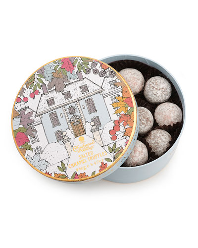 Winter House Drum Salted Caramel Truffles