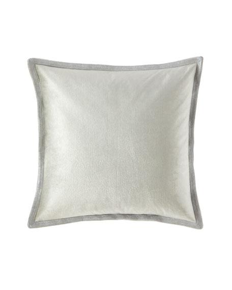 Metallic Stitch Velvet Pillow
