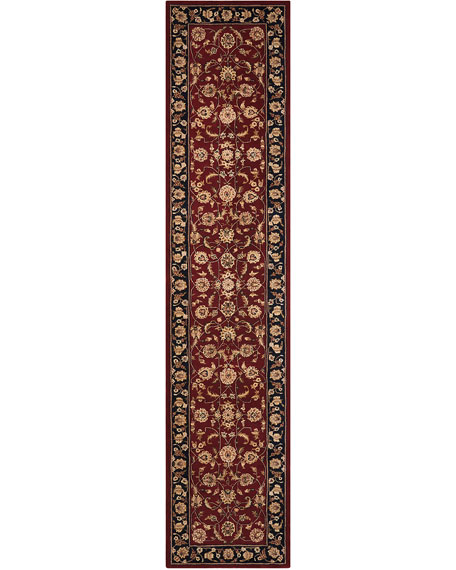 "Apenzell Hand-Tufted Runner, 2'6"" x 12'"