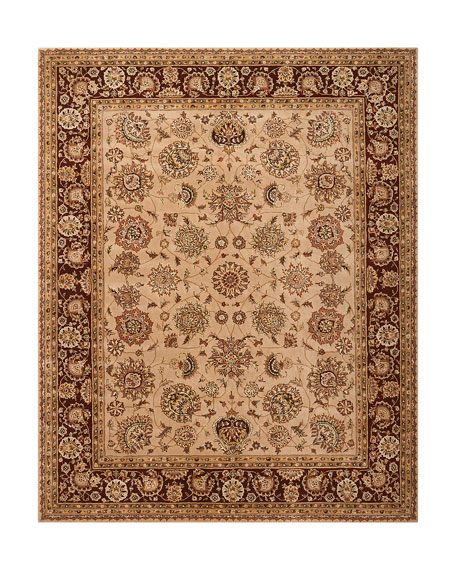 Colonial Hand-Tufted Rug, 8' x 10'