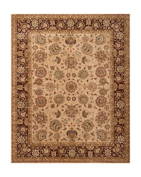 Colonial Hand-Tufted Rug, 9' x 12'