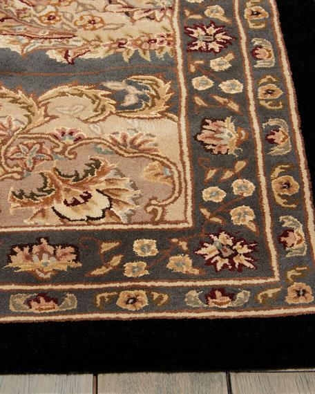 Mosaic Hand-Tufted Rug, 4' x 6'