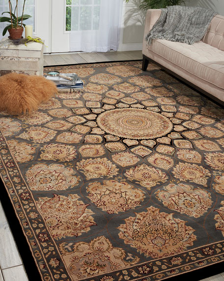 Mosaic Hand-Tufted Rug, 5' x 8'