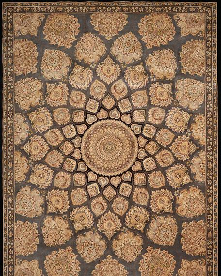 Mosaic Hand-Tufted Rug, 9' x 12'