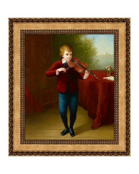 """Peter The Violinist"" Giclee Art"