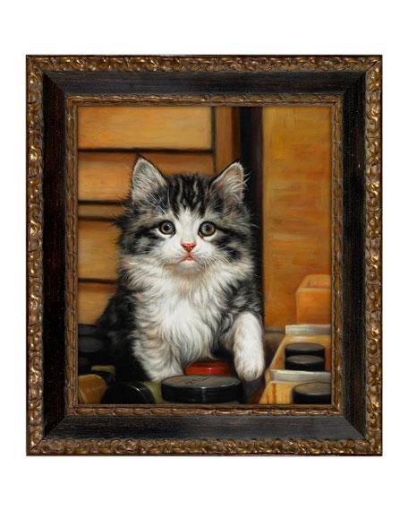 """The Kitten"" Giclee Art"