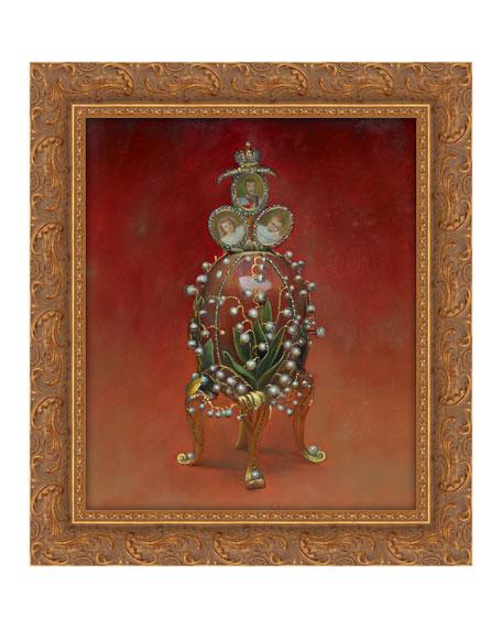 """""""Faberge Egg II"""" Giclee Art"""