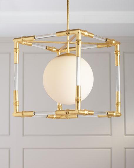 Bamboo Acrylic Pendant