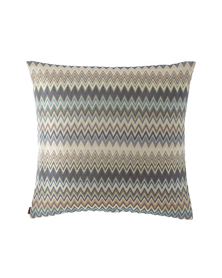Masuleh Zigzag Decorative Pillow, 23""