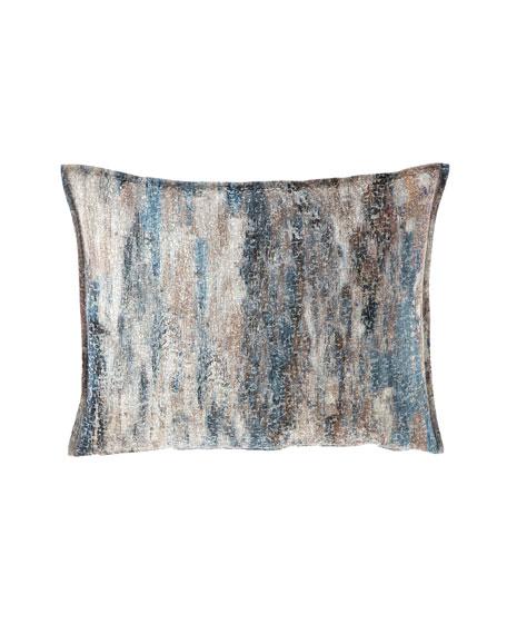Fino Lino Linen & Lace Mukai Standard Sham
