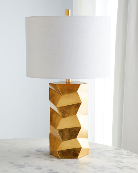 Chiseled Large Table Lamp