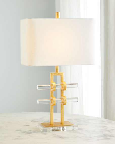 Acrylic Rod Table Lamp