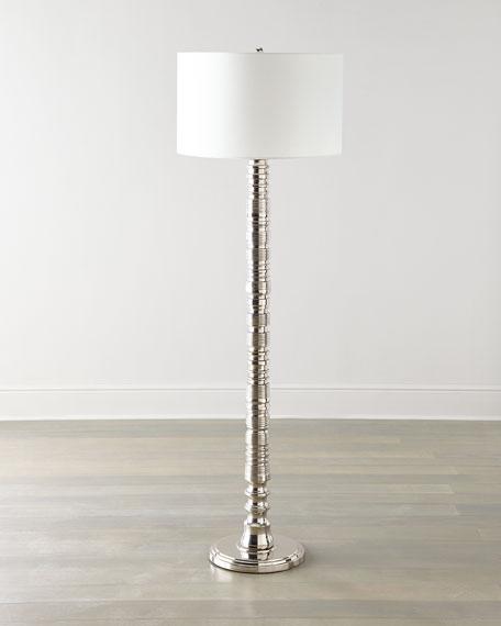 Global Views Aluminum Floor Lamp