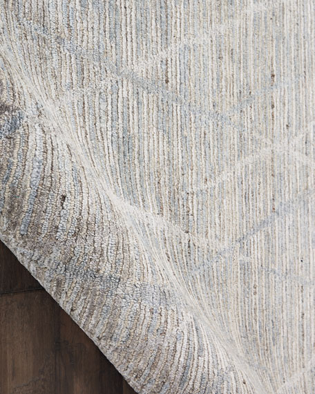 Cumberland Hand-Knotted Rug, 5' x 8'