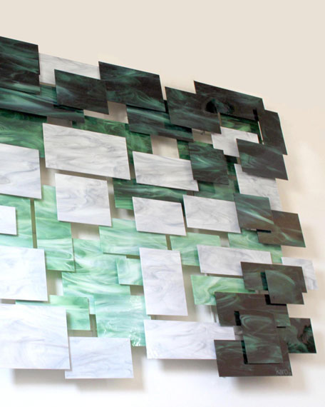 Malachite Medium Wall Sculpture