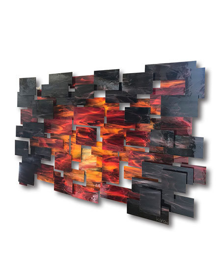 Dusk Large Wall Sculpture