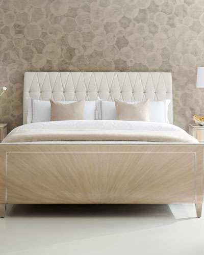 Diamond Jubilee Tufted King Bed