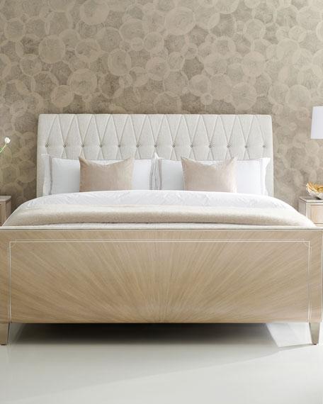 Diamond Jubilee Tufted King Bed