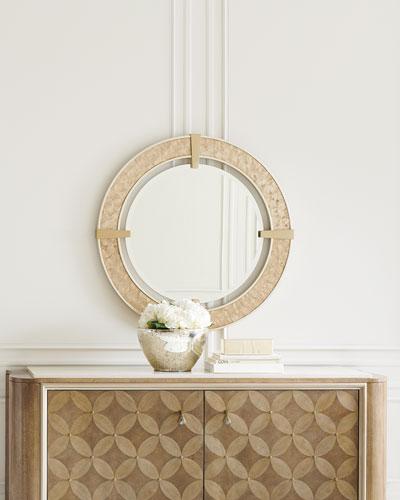 Inspired Vision Round Mirror