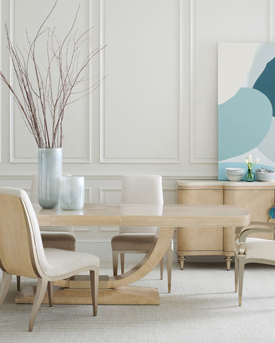 Fan Club Art Deco Dining Table