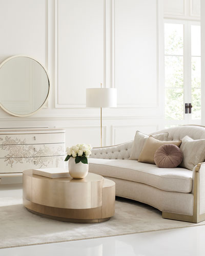 Level Up Double Oval Coffee Table