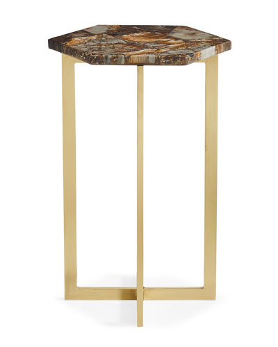 Petra Hex Accent Table
