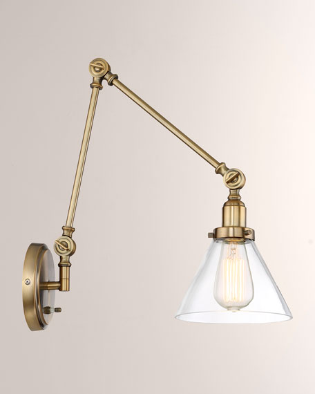Drake 1-Light Adjustable Sconce