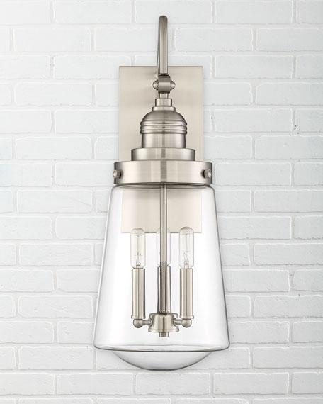 Macauley 3-Light Wall Lantern