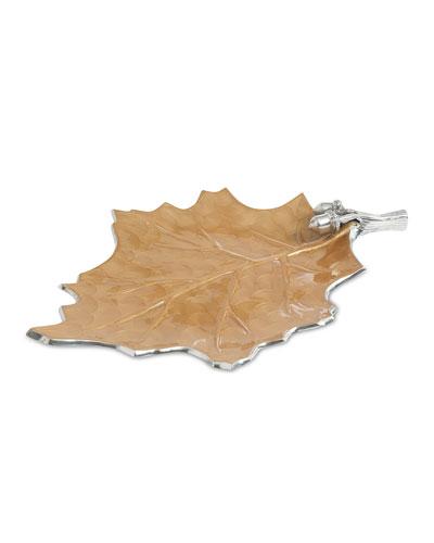 Oak Leaf 18 Platter