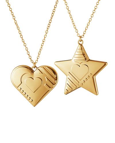 2019 Heart & Star Ornaments