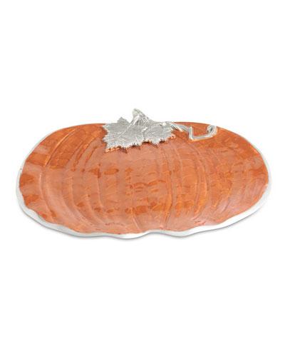 Pumpkin 17 Platter