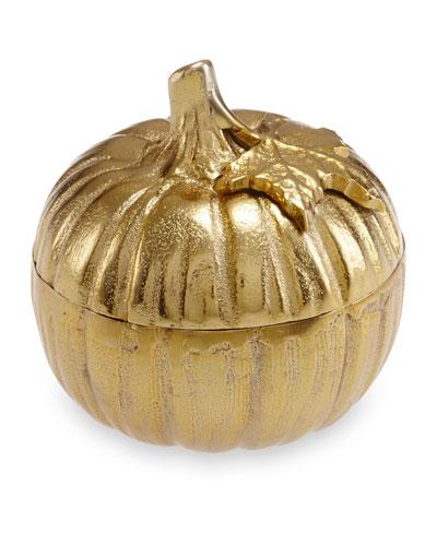 Pumpkin 5 Covered Bowl