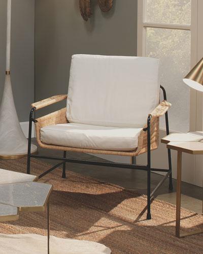 Sausalito Rattan Lounge Chair