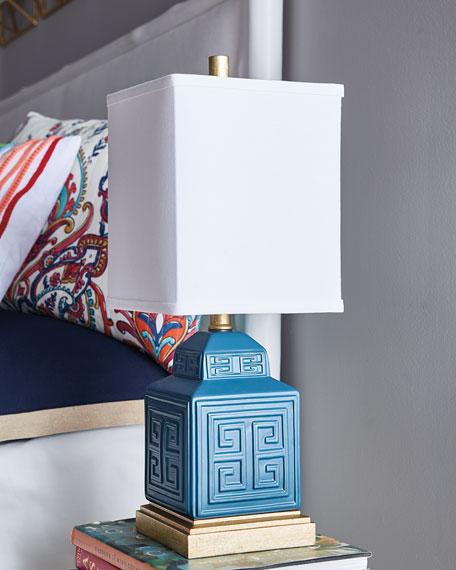 Greek Key Accent Lamp