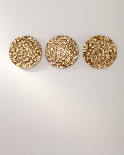 Oaz Round Wall Decor  Set of 3