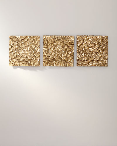Oaz Square Wall Decor  Set of 3