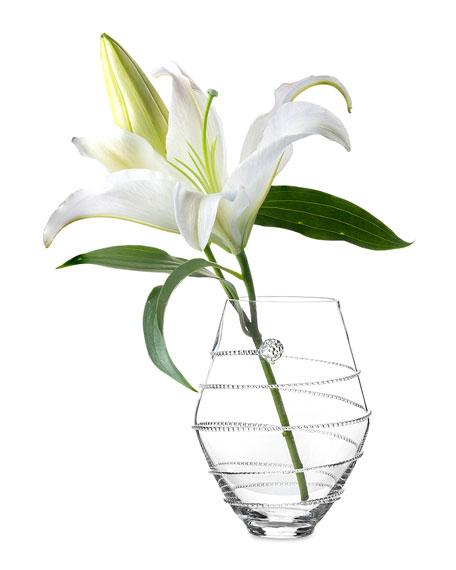 """6"""" Clear Amalia Vase"""