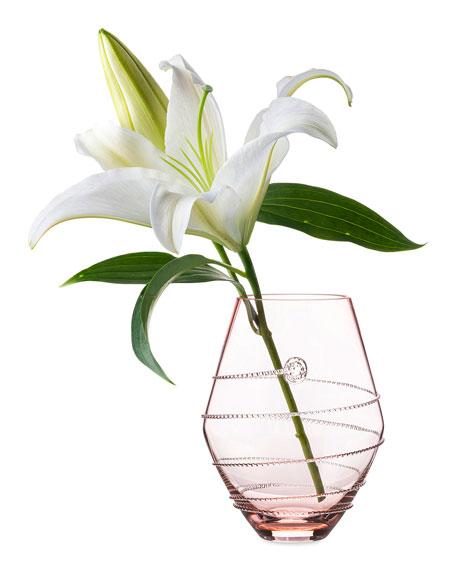 """6"""" Pink Amalia Vase"""