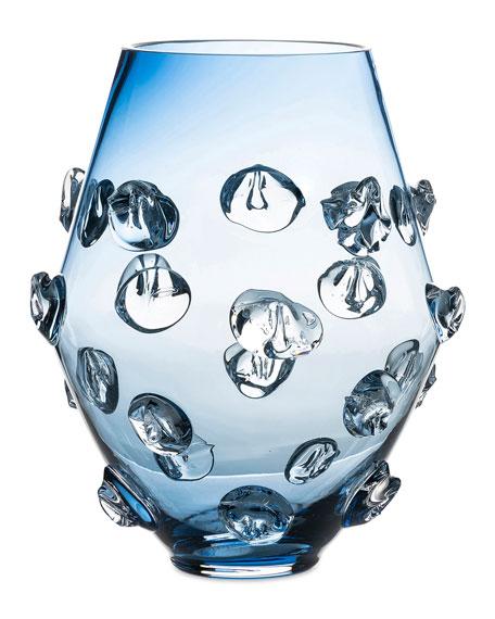 """6"""" Blue Florence Vase"""