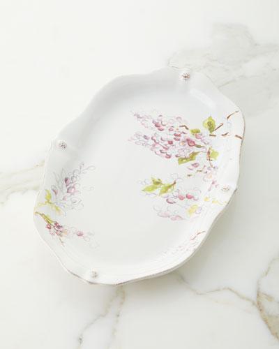 Berry & Thread Floral Sketch Platter
