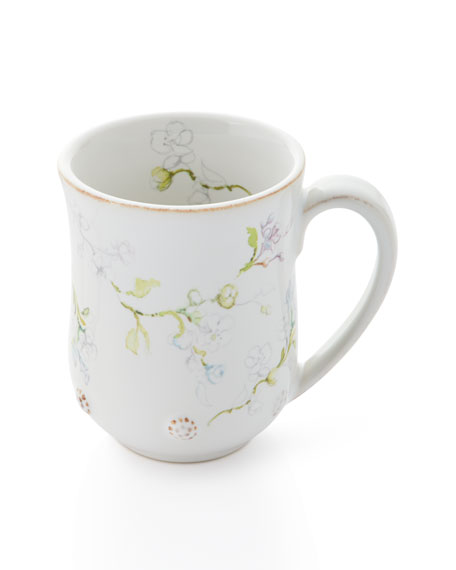 Juliska Berry & Thread Floral Sketch Jasmine Mug