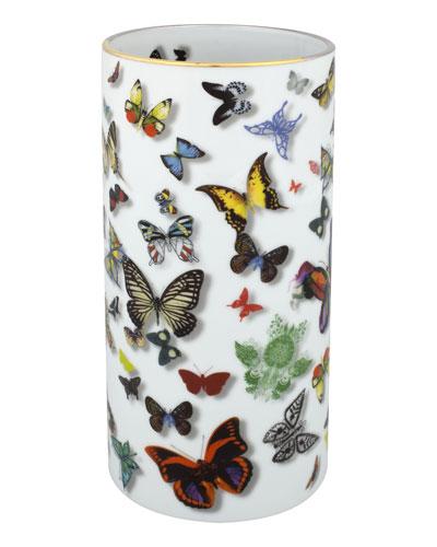 Butterfly Parade Vase