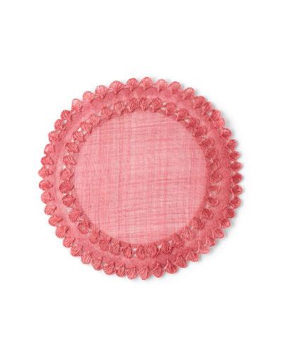 Isadora Pink Placemat