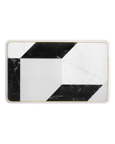 Carrara Large Rectangular Platter