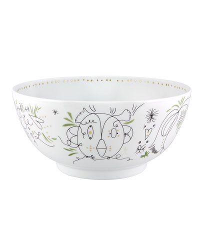 Folkifunki Large Salad Bowl