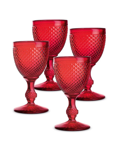 Bicos Water Goblets, Set of 4