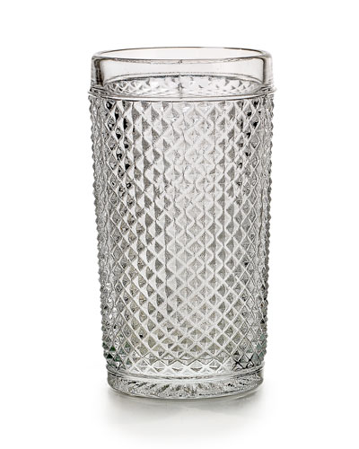 Bicos Highball Glasses  Set of 4 - Clear