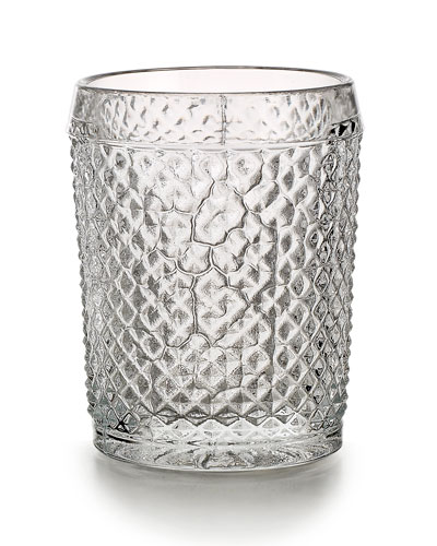 Bicos Old-Fashioned Glasses  Set of 4 - Clear