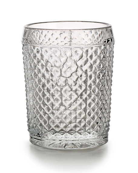 Bicos Old-Fashioned Glasses, Set of 4 - Clear